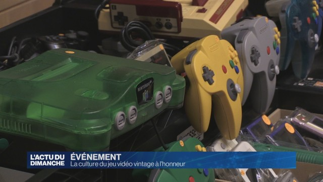 La culture du jeu vidéo vintage à l'honneur