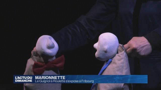 Le Guignol à Roulette s'expose à Fribourg