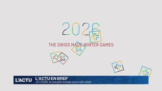 Le peuple suisse pourrait voter sur les JO d'hiver 2026