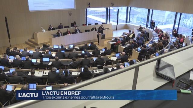 Trois experts externes pour l'affaire Broulis