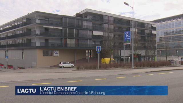 L'institut Demoscope s'installe à Fribourg