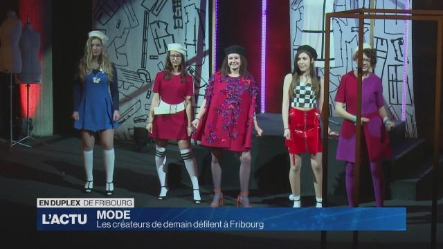Les faiseurs de mode de demain défilent à Fribourg