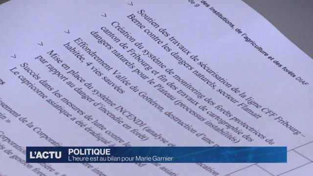 Bilan de Marie Garnier à la DIAF