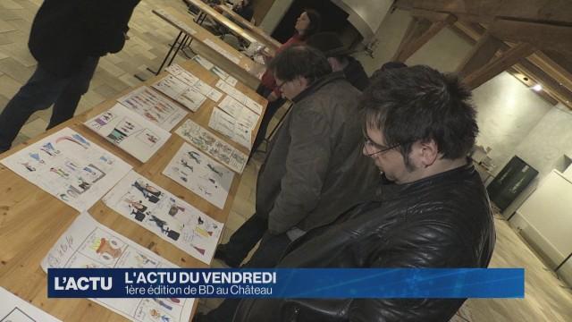 Les artistes investissent le château d'Aigle