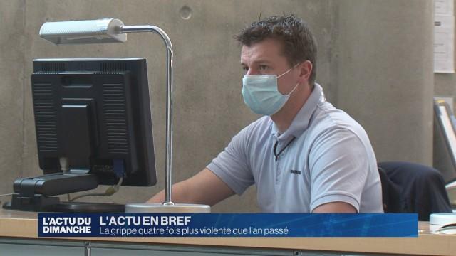 La grippe quatre fois plus violente que l'an passé