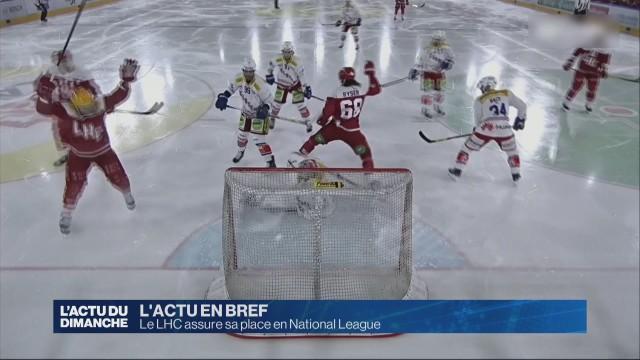 Le LHC assure sa place en National League
