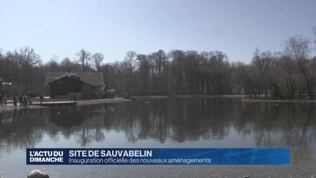 Inauguration des nouveaux aménagements de Sauvabelin