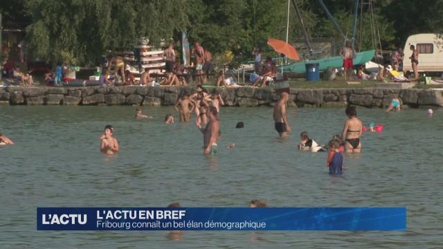 Fribourg connaît un bel élan démographique