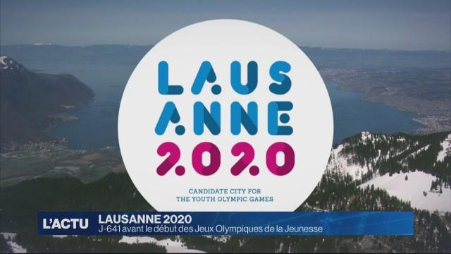 J-641 avant le début des jeux Olympiques de la jeunesse