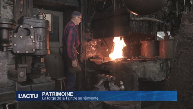 La forge de la Tzintre se réinvente