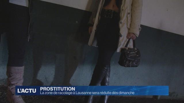 La zone de prostitution de Sévelin réduite dès dimanche