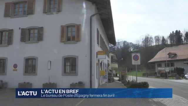 Le bureau de Poste d'Épagny fermera fin avril