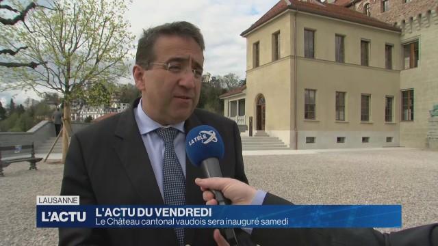Réouverture officielle et publique du château cantonal