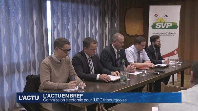L'UDC fribourgeoise va se doter une commission électorale.