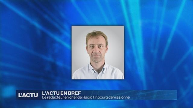 Le rédacteur en chef de Radio Fribourg démissionne