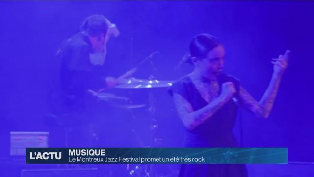 La 52e édition du Montreux Jazz Festival s'annonce très rock