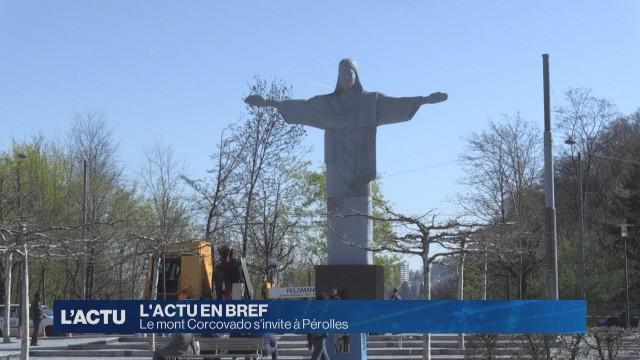 La statue du Corcovado à Fribourg