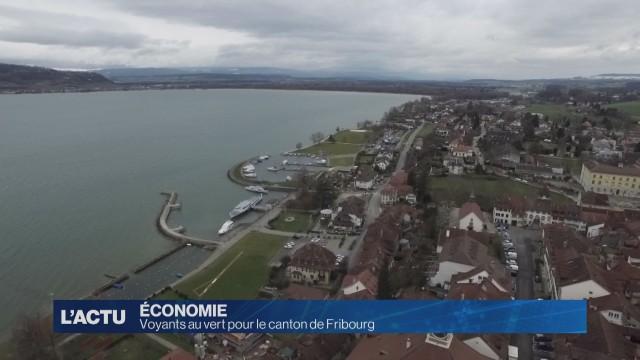 Voyants au vert pour le canton de Fribourg