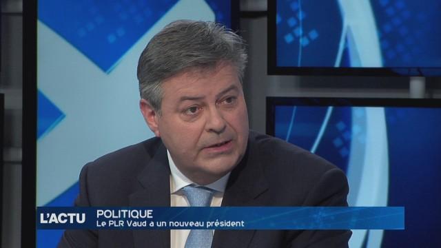 Marc-Olivier Buffat est le nouveau président du PLR Vaud
