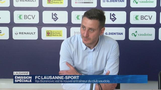 Ilija Borenovic est le nouvel entraîneur du LS.
