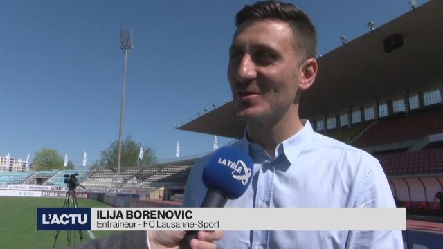 Ilija Borenovic est le nouvel entraîneur du LS