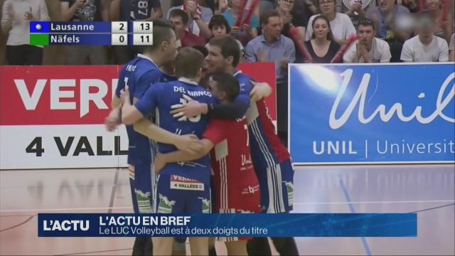 Le LUC Volleyball est à deux doigts du titre de champion