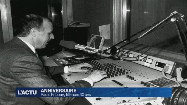 Radio Fribourg fête ses 30 ans.