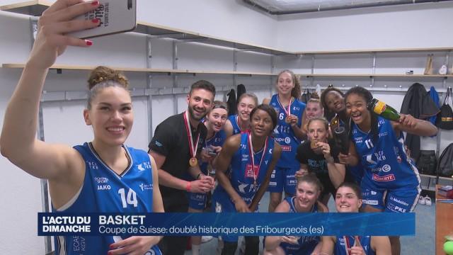 Coupe de Suisse : doublé historique des Fribourgeois(es)