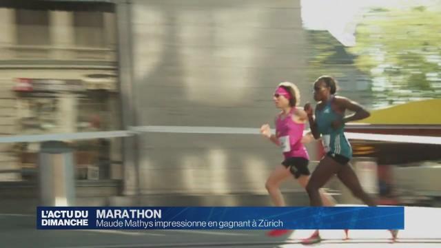Maude Mathys impressionne en gagnant à Zürich