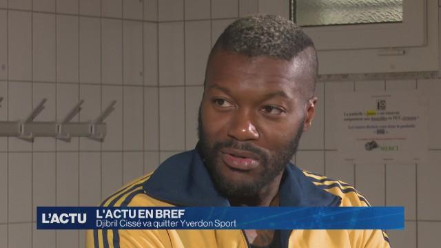 Djibril Cissé va quitter Yverdon Sport