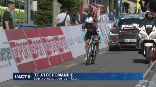 Le prologue du Tour de Romandie au coeur de Fribourg