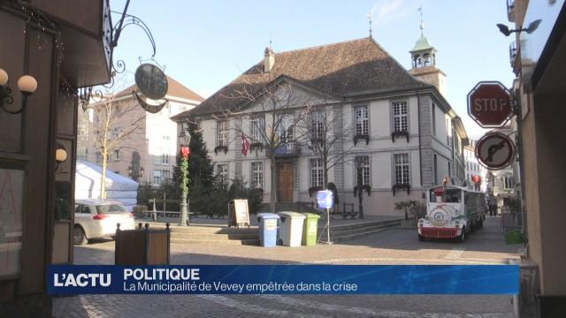 La Municipalité de Vevey empêtrée dans la crise