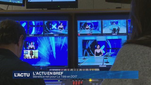 Bénéfice net pour La Télé en 2017