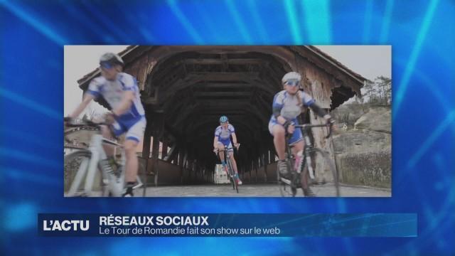 Le Tour de Romandie fait son show sur le web.