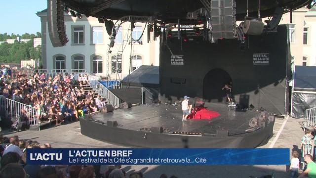 Le Festival de la Cité s'agrandit et retrouve la... Cité