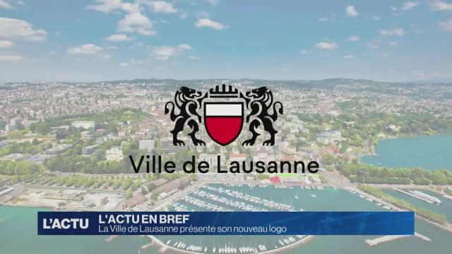La Ville de Lausanne dévoile son nouveau logo