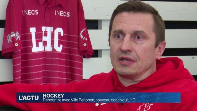 Rencontre avec Ville Peltonen, nouveau coach du LHC