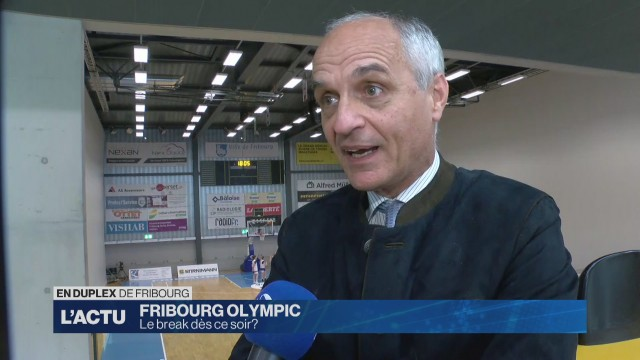 Le break pour Fribourg Olympic?