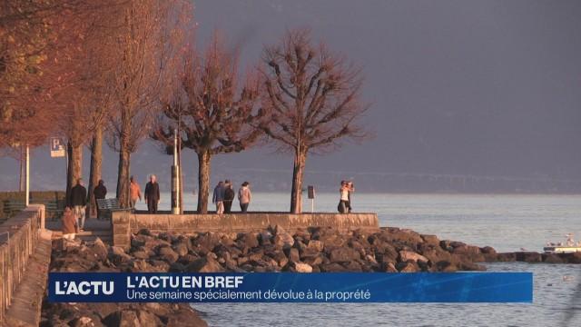 Une semaine dévolue à la proprété à Lausanne