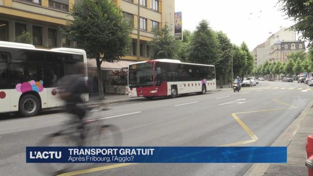 Transports publics gratuit : Après Fribourg, l'Agglo ?