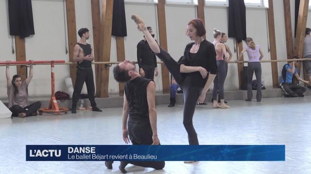 Dans les coulisses de Syncope du Ballet Béjart