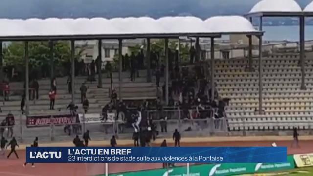 23 interdictions de stade suite aux violences à la Pontaise