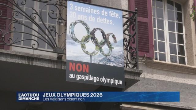 JO 2026: Les Valaisans disent non
