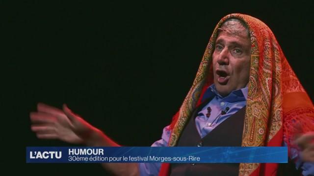 30e édition du festival Morges-sous-Rire