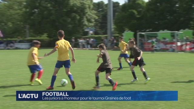 Les juniors à l'honneur pour le tournoi Graines de foot