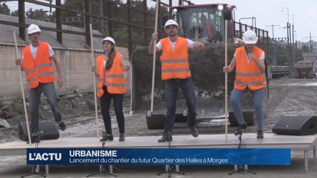 Lancement du chantier du futur Quartier des Halles à Morges