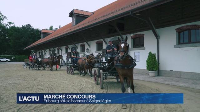 Fribourg hôte d'honneur au Marché Concours