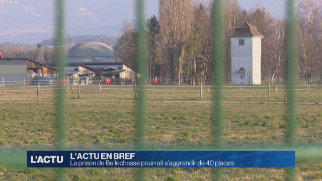 La prison de Bellechasse pourrait s'aggrandir de 40 places