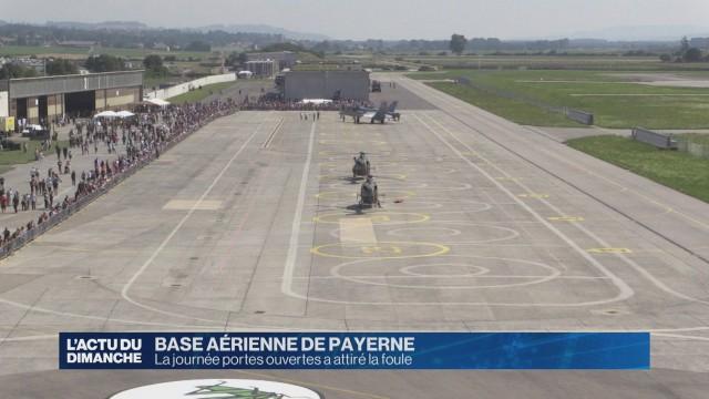 La base aérienne de Payerne se dévoile au public