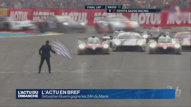 Sébastien Buemi gagne les 24h du Mans